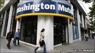 Washington Mutual facade