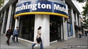 Washington Mutual facade