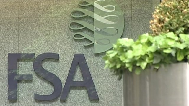 Financial Services Authority sign