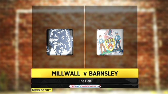 Championship highlights: Millwall 2-0 Barnsley
