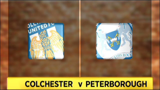 Colchester v Peterborough