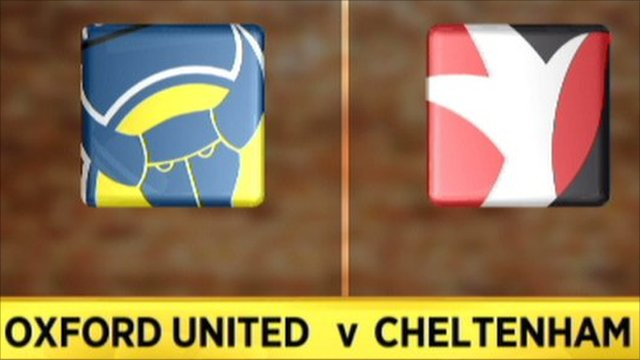 Oxford United 1-1 Cheltenham