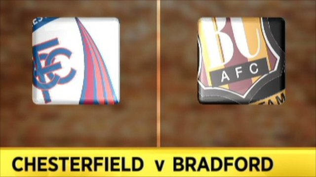 Chesterfield 2-2 Bradford