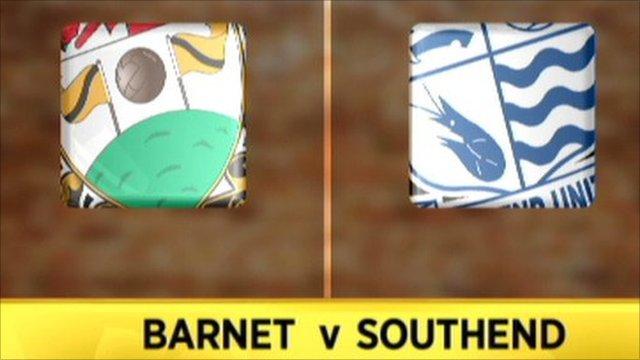 Barnet 0-2 Southend