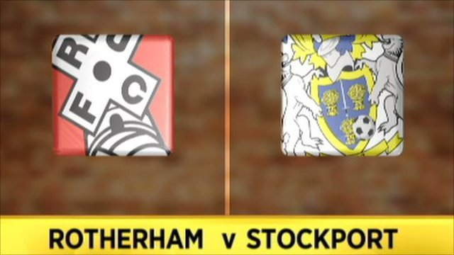 Rotherham 4-0 Stockport
