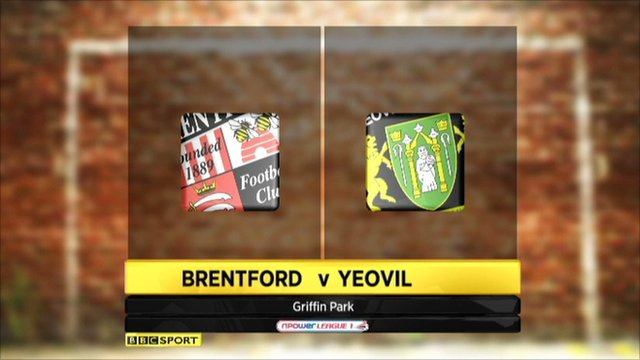 Brentford 1-2 Yeovil