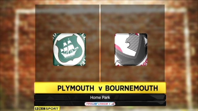Highlights - Plymouth 1-2 Bournemouth