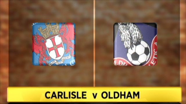 Highlights - Carlisle 2-2 Oldham