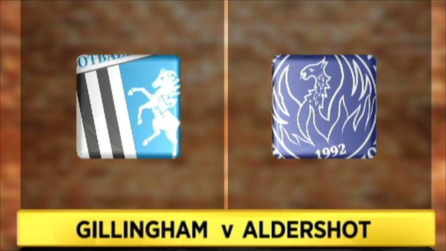 Highlights - Gillingham 2-1 Aldershot