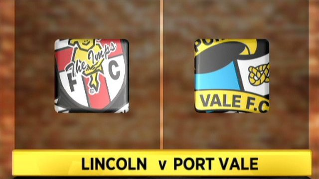 Highlights - Lincoln 1-0 Port Vale