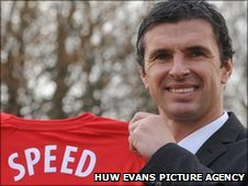 Gary Speed took over as Wales boss in December 2010