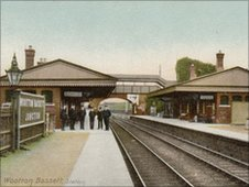 Wootton Bassett train station