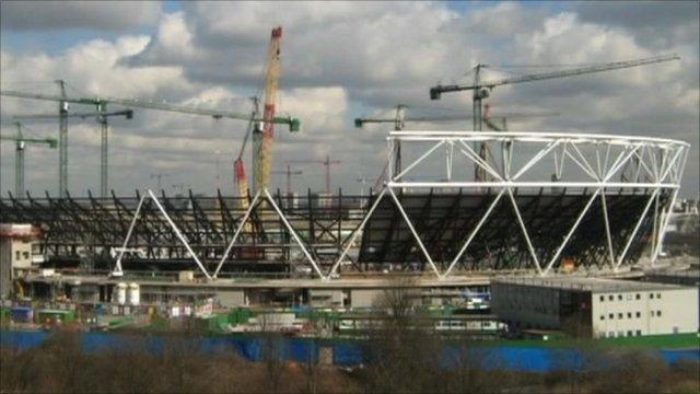 Future Olympic stadium