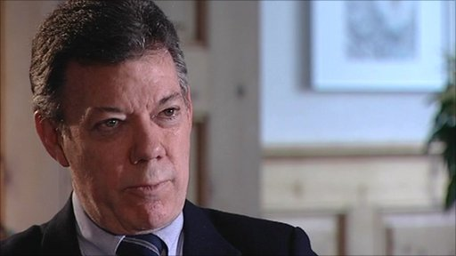 President of Colombia Juan Manuel Santos