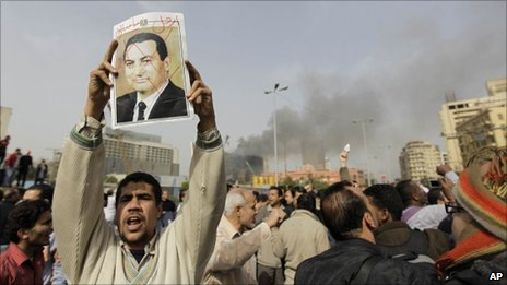 Protester in Cairo - 29 January