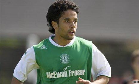 Hibs midfielder Merouanne Zemmama