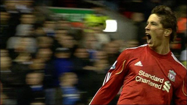 Fernando Torres hits brace against Chelsea