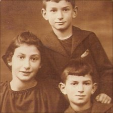 Helen Seligman, Justin Seligman (top) and Henry Seligman as children