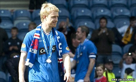 Stevie Smith left Ibrox in search of first-team football