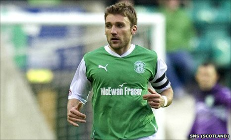 Hibs defender Chris Hogg