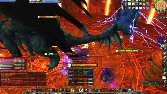 Paragon guild's attack on Nefarian in World of Warcraft