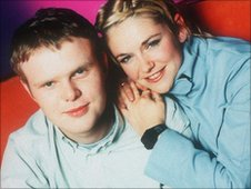 Huw Stephens and Bethan Elfyn in 2000