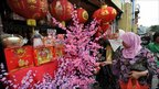 Lunar New Year souvenirs for sale in Jakarta's Chinatown - 1 February 2011