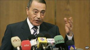 Mr Bakhit served as prime minister in Jordan from 2005 to 2007