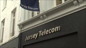 Jersey Telecom shop front