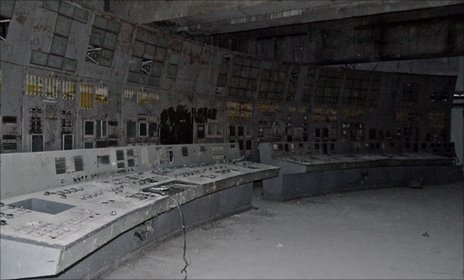 Control room Chernobyl