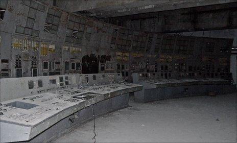 Control room Chernobyl