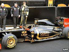 The new Renault car