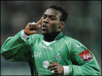 Guinea international Pascal Feindouno