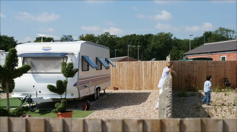 Woodside traveller site