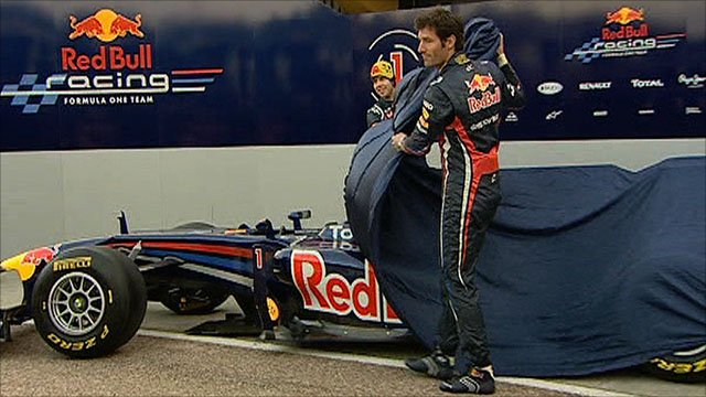 Red Bull's 2011 car is revealed