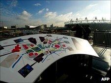 Olympic Park on 19 January, 2011