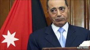 Jordanian PM Marouf Bakhit (file image)