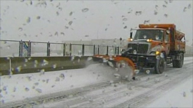 A snow plough