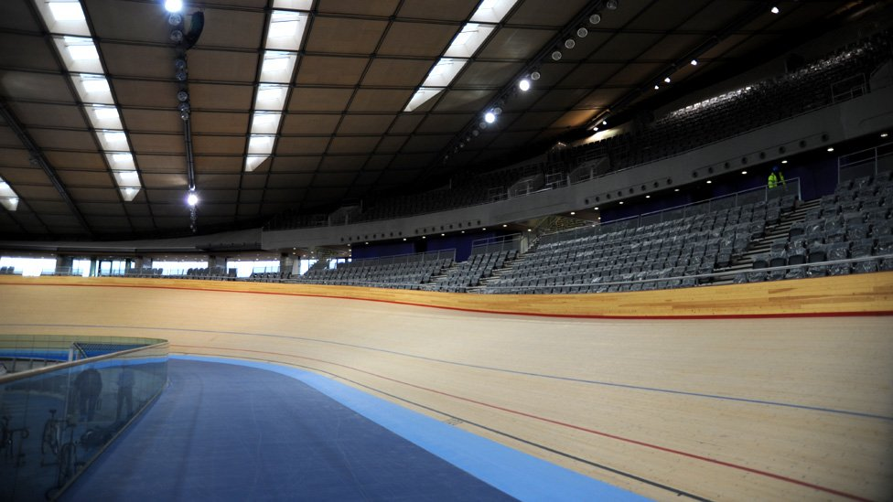 The Olympic Velodrome At Park Stratford East London 27 January 2011
