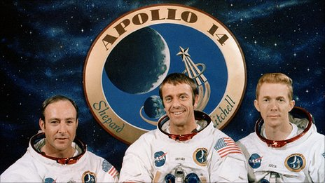 Apollo 14 crew photo