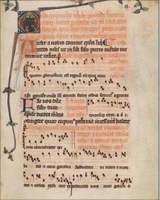 Bangor Pontifical manuscript