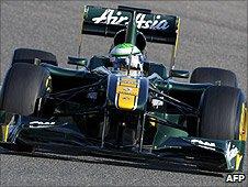 Lotus driver Heikki Kovalainen