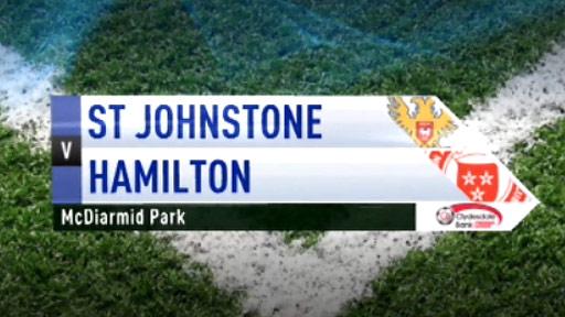 St Johnstone v Hamilton