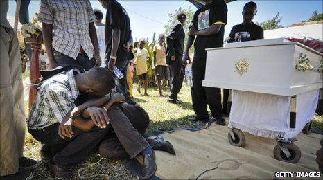 Funeral of David Kato