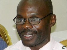David Kato, gay rights activist in Uganda who was recently murdered