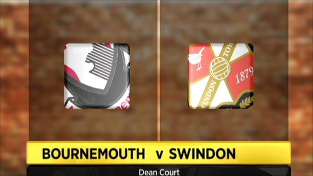 Bournemouth 3-2 Swindon