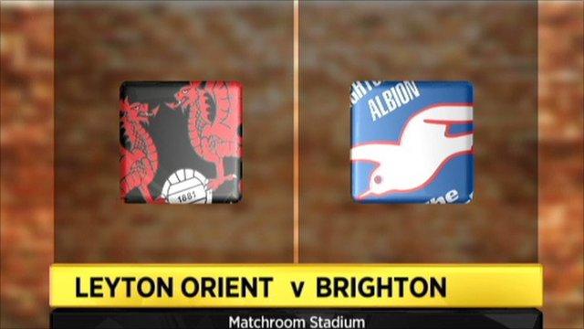 Leyton Orient 0-0 Brighton