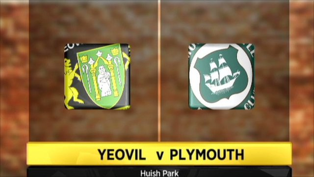 Yeovil 1-0 Plymouth