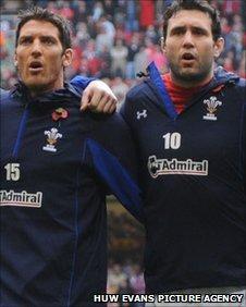 James Hook and Stephen Jones