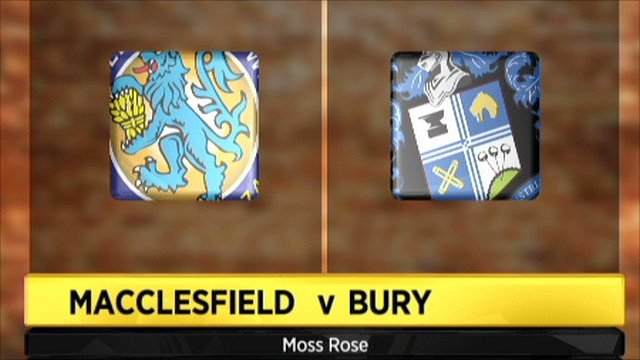 Macclesfield v Bury
